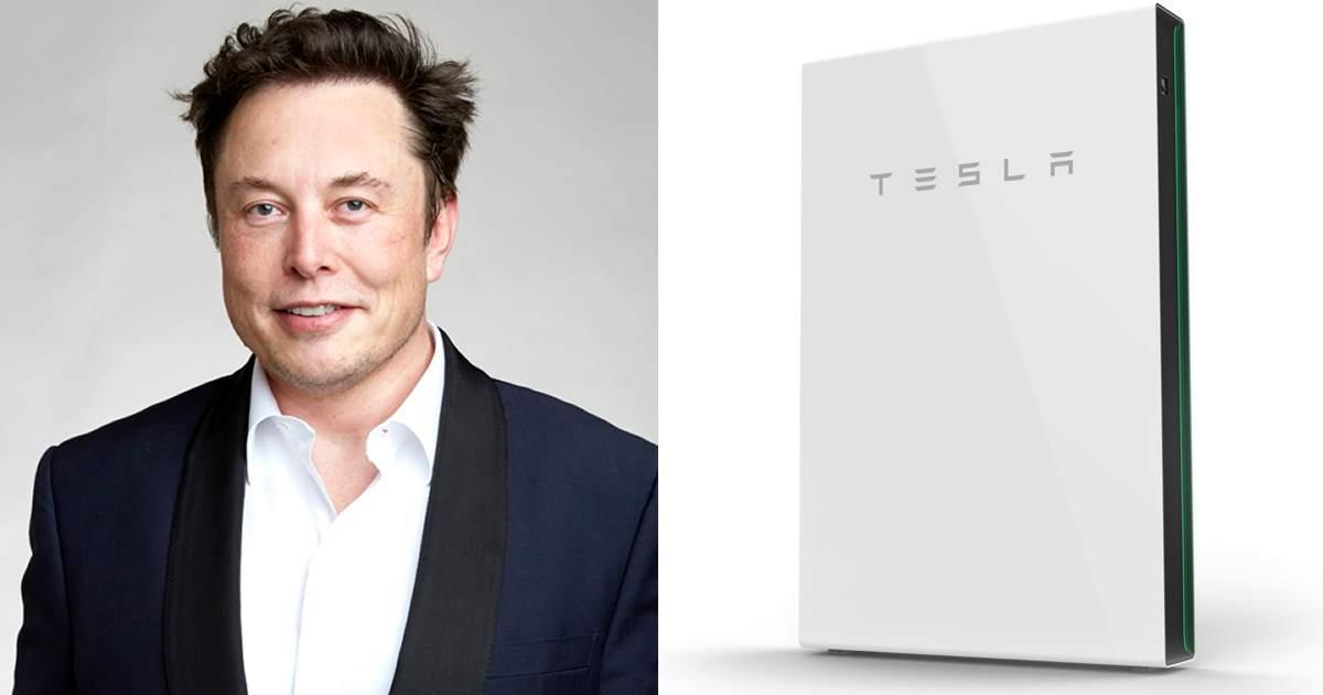 Elon Musk - Tesla Powerwall 2 Plus