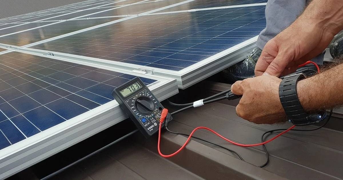 Solar power system inspection and testing