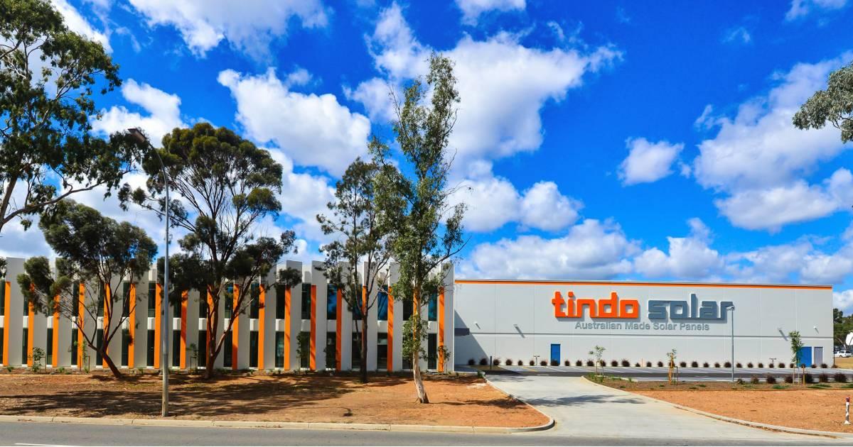 Tindo Solar's new factory