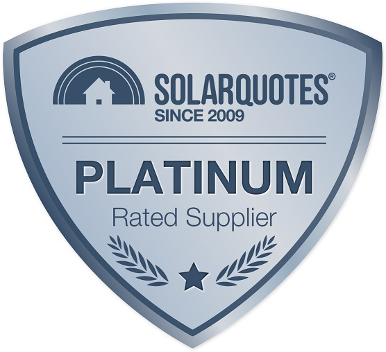 SolarQuotes Platinum Rated Suppliers