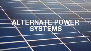 Alternate Power Systems