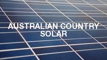 Australian Country Solar