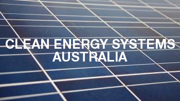 Clean Energy Systems Australia