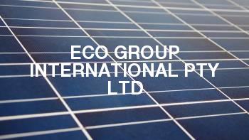 Eco Group International Pty Ltd