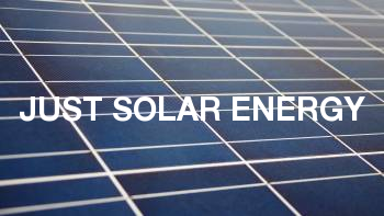 Just Solar Energy
