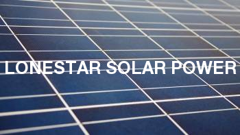 Lonestar Solar Power
