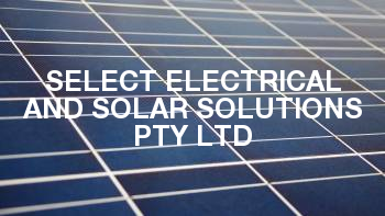 Select Electrical and Solar Solutions Pty Ltd