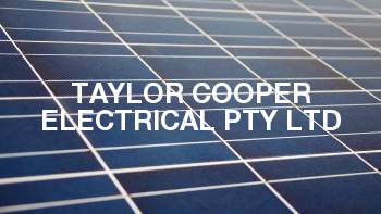 Taylor Cooper Electrical Pty Ltd