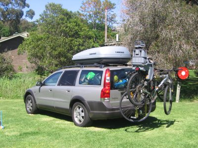 the loaded up volvo