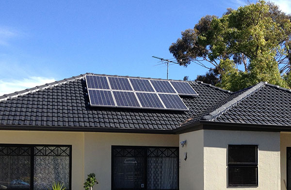 1.5kW Solar System on a roof