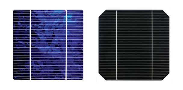 Poly vs mono solar panel