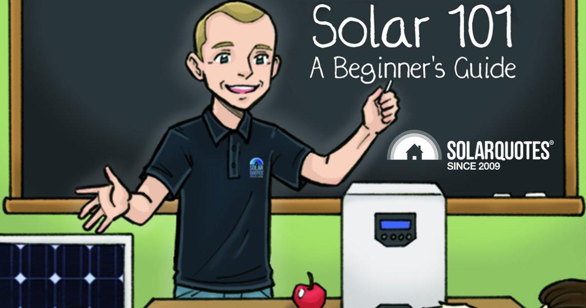 Understanding solar power 101